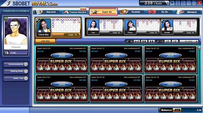 Panduan Cara Bermain Baccarat Super Six Di Casino Online