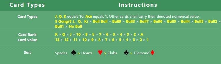 Panduan Bermain Dan Memasang Bull Bull Di Casino Online