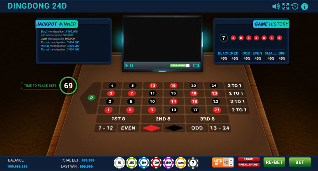 Panduan Cara Bermain SicBo Ding Dong 24D Di Casino Online