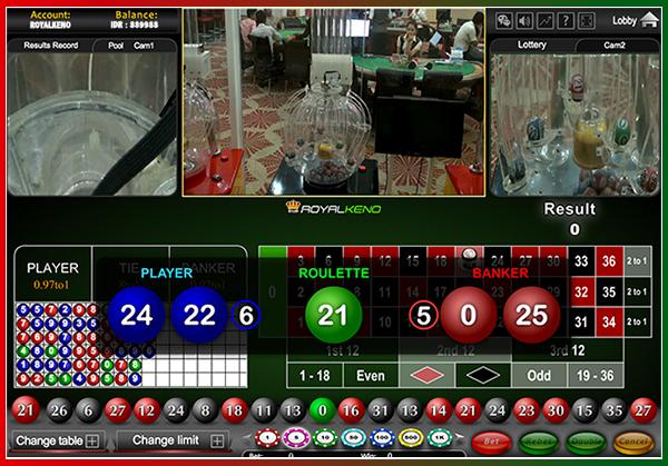 Panduan Bermain Dan Memasang Royal Keno Di Casino Online