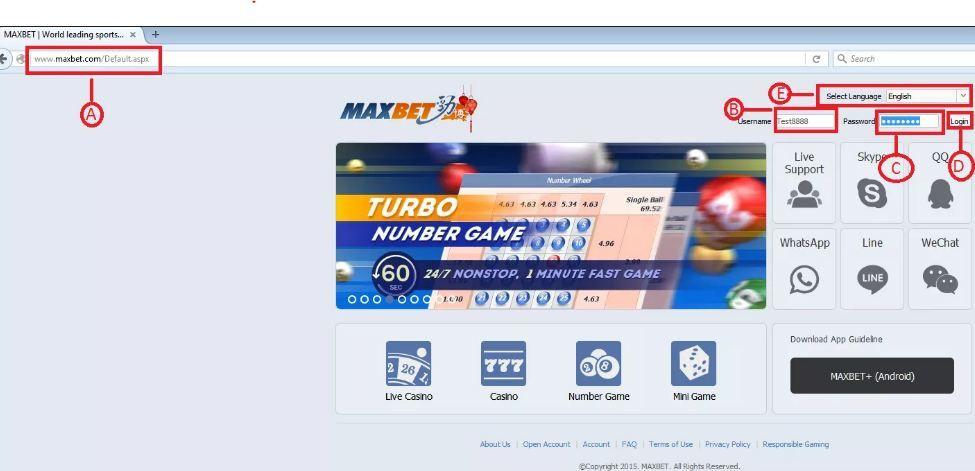 Panduan Login Dan Mengganti Password Di Maxbet