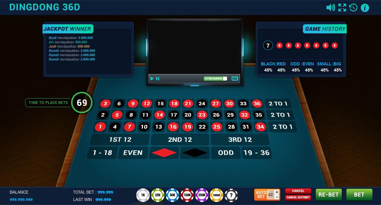 Panduan Cara Bermain Sicbo DingDong 36D Di Casino Online